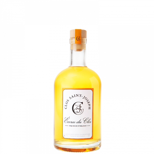 "Liqueur d'Orange ""Écorce du Clos"" 39% 50cl Clos St Joseph"