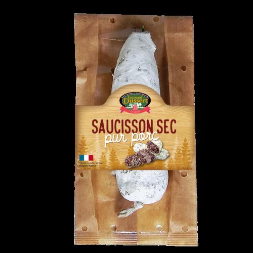 Saucisson sec pur porc 200g Fernand Dussert