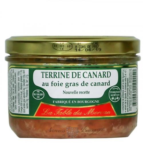 Terrine de canard au foie gras 200g
