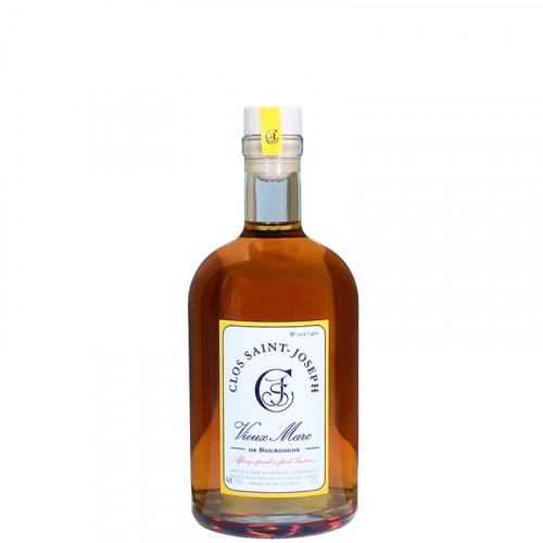 Vieux Marc de Bourgogne affiné en fût de Sauternes 48% 50cl Clos St Joseph