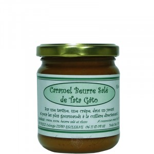 Caramel Beurre Salé au Rhum 240g