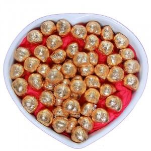 Escargots de Bourgogne au Chocolat au lait praliné - Coeur de 1Kg