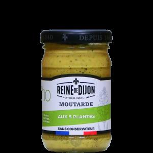 Moutarde 5 plantes 100g Reine de Dijon