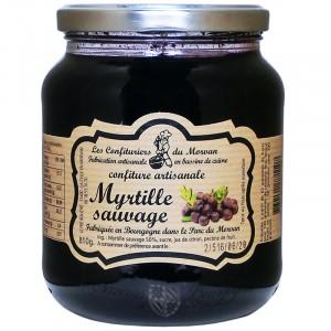 Confiture Myrtille sauvage 810g Confiturier du Morvan