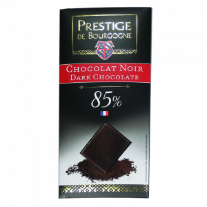 Tablette Chocolat Noir 85% 100g  Chocolaterie de Bourgogne