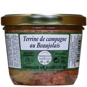 Terrine de campagne au Beaujolais 180g