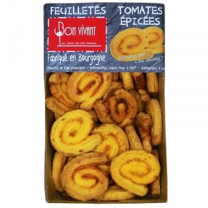 Feuilletés tomates épicées pur beurre
