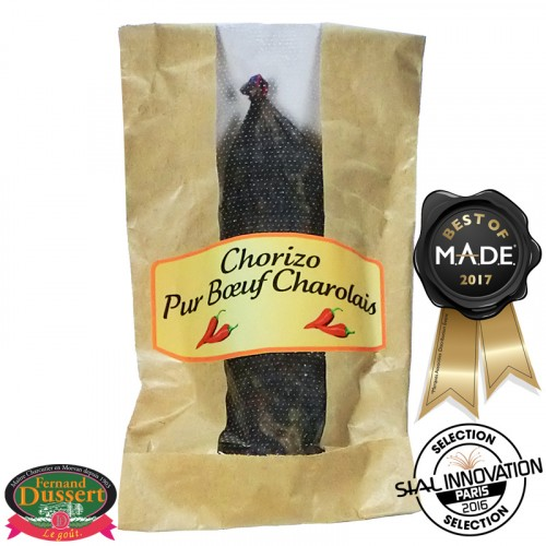 Chorizo pur Boeuf Charolais 200g