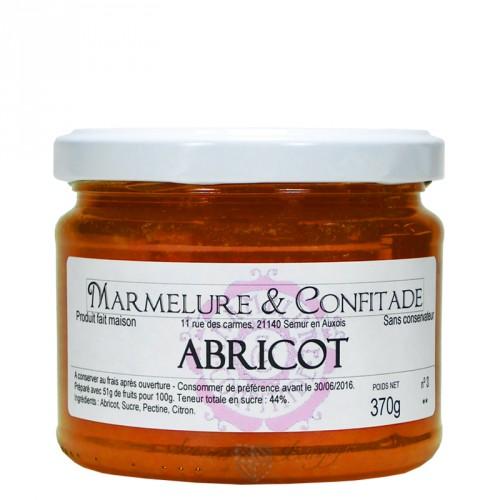 Confiture Abricot 370g Marmelure & Confitade