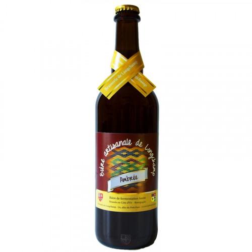 Bière ambrée Longchamp 75cl