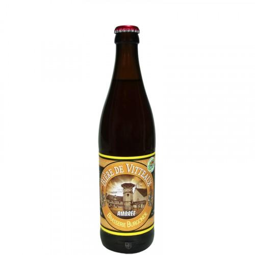 Bière ambrée de Vitteaux 50Cl