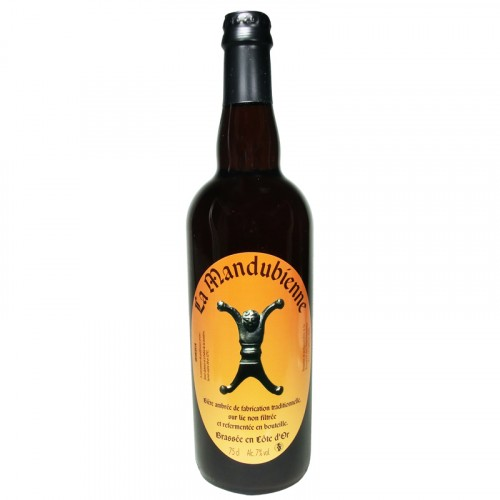Bière ambrée Mandubienne 75cl Les 3 fontaines