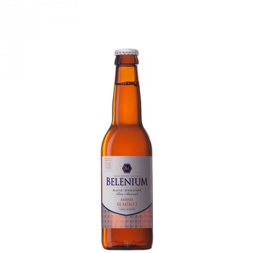 Bière ambrée Belenium 33cl
