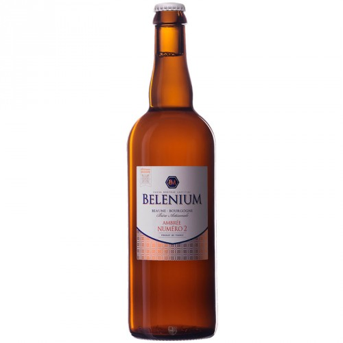 Bière ambrée Belenium 75cl