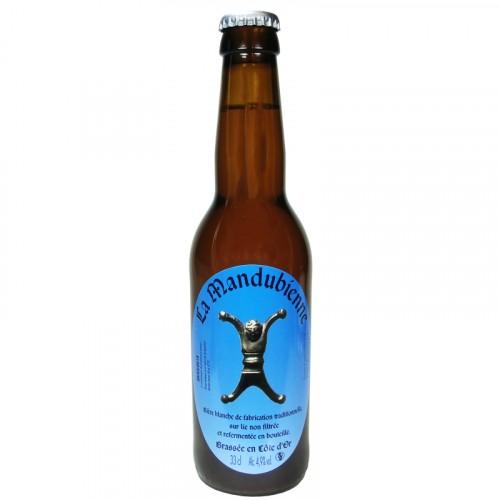 Bière blanche Mandubienne 33cl Les 3 fontaines