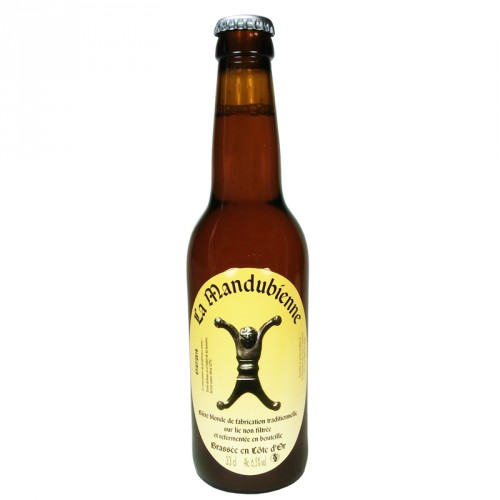 Bière blonde Mandubienne 33cl Les 3 fontaines