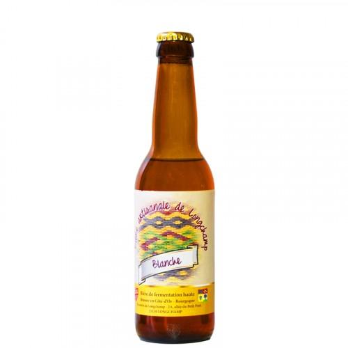 Bière blanche Longchamp 33cl