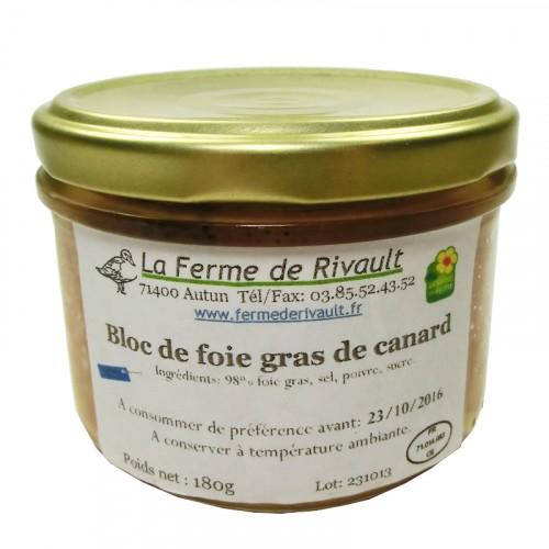 Bloc de Foie Gras de Canard 180g