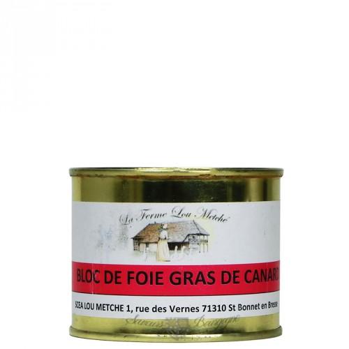 Bloc de foie gras de canard 160g