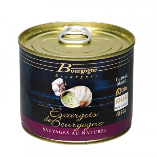 """Boite d'Escargots de Bourgogne """"très gros"""" boîte 1/4 2Dz 125g Bourgogne Escargots"""