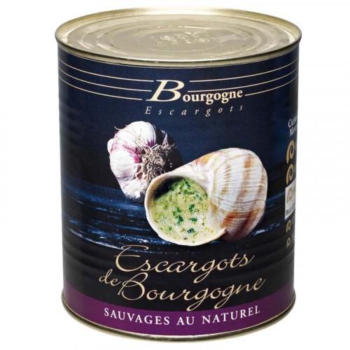 """Boite d'Escargots de Bourgogne """"très gros"""" boîte 4/4 8Dz 500g Bourgogne Escargots"""