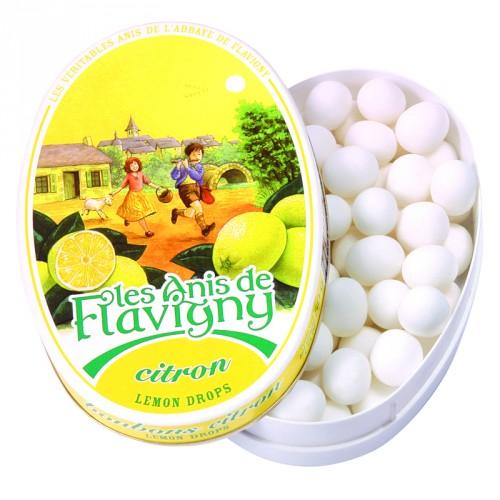 Boite ovale 50g - Citron