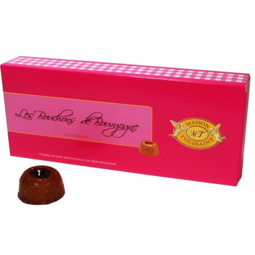 Bouchons de Bourgogne framboise 160g