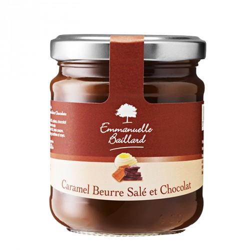 Caramel au beurre salé et chocolat 240g
