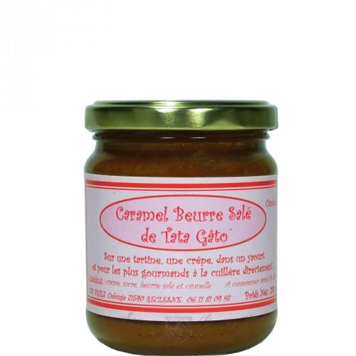Caramel Beurre Salé à la Cannelle 240g