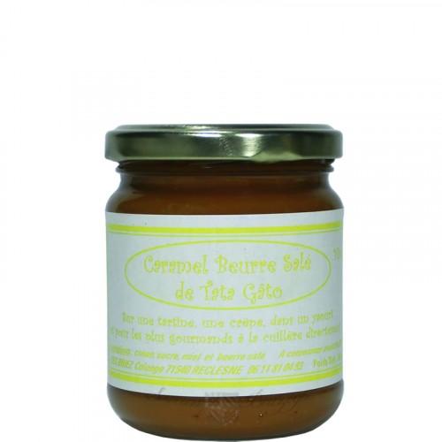 Caramel Beurre Salé au miel 240g