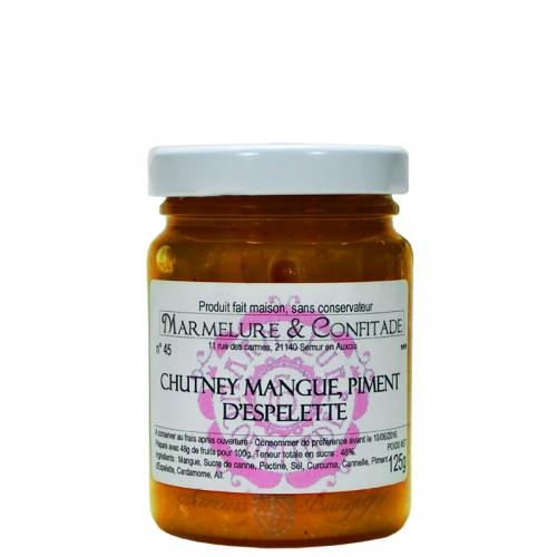 Chutney de mangue et piment d'Espelette 125g