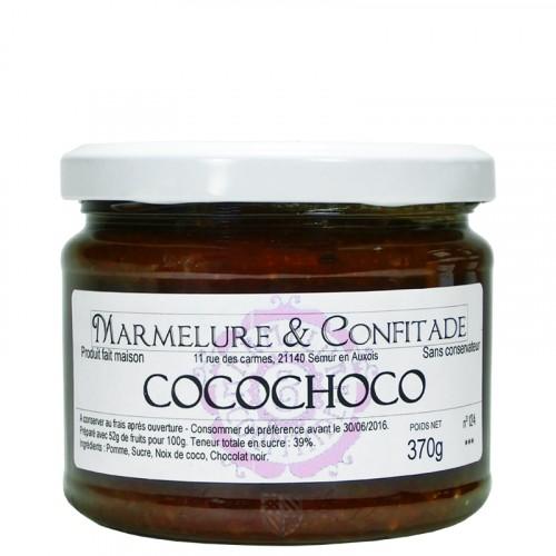 Confiture cocochoco 370g Marmelure & Confitade DLUO 06/09/2019