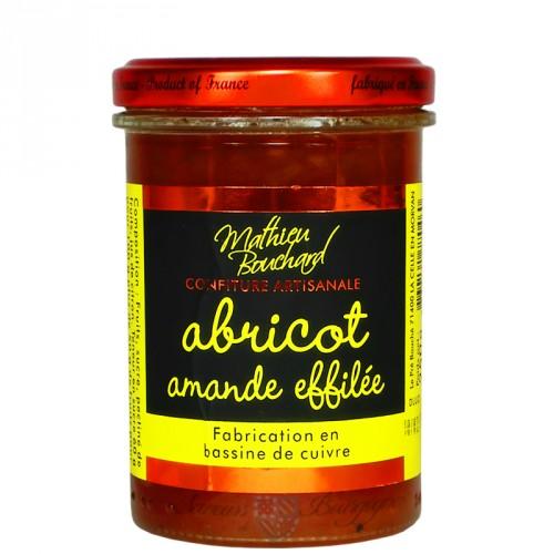 Confiture Abricot amande effilée 250g
