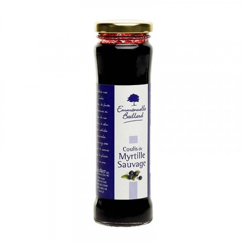 Coulis de Myrtille Sauvage 210g