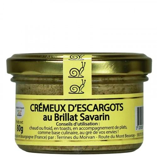 Crémeux d'escargots au Brillat Savarin à tartiner 80g