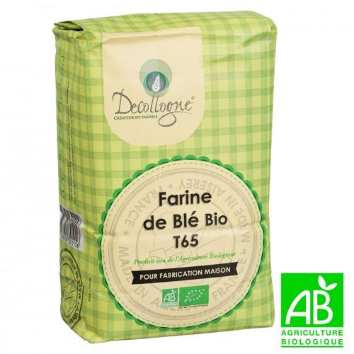 Farine de blé bio T65 1Kg