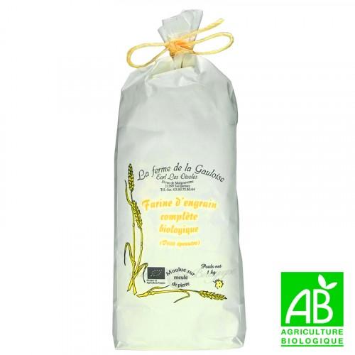 Farine engrain complète biologique 1kg