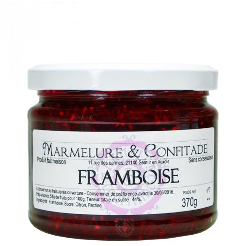 Confiture Framboise 370g Marmelure & Confitade
