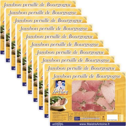 Jambon persillé de Bourgogne 200g * 10 tranches