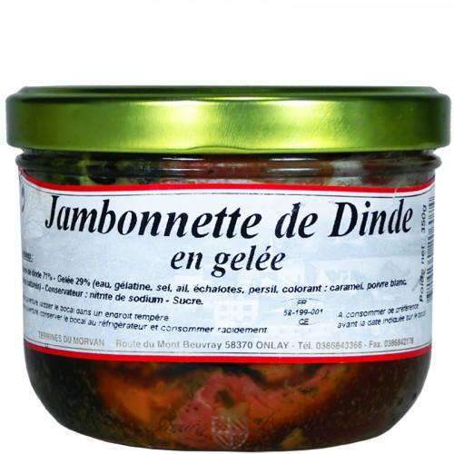 Jambonnette de dinde en gelée 350g