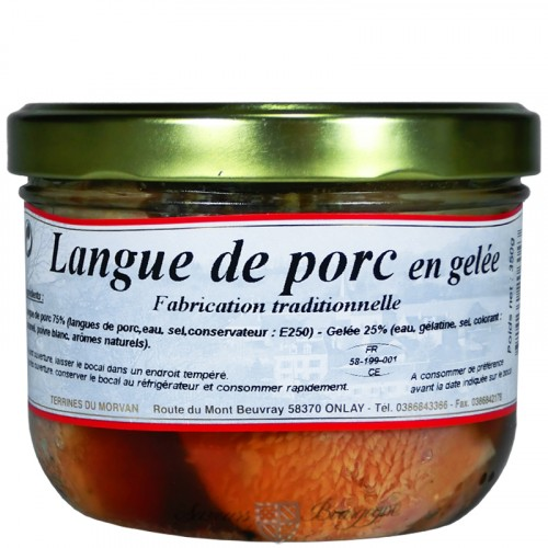 Langue de porc en gelée 350g