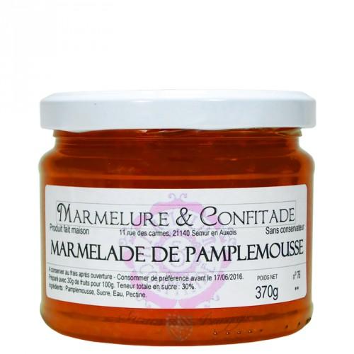Marmelade de pamplemousse 370g Marmelure & Confitade