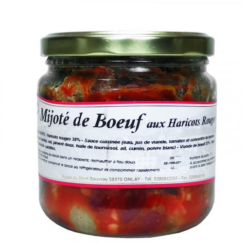 Mijoté de boeuf aux haricots rouges 400g