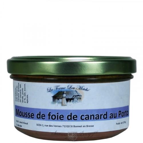 Mousse de foie de canard au porto 120g