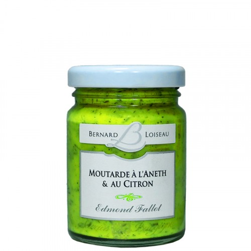 Moutarde à l'Aneth et au citron 100g