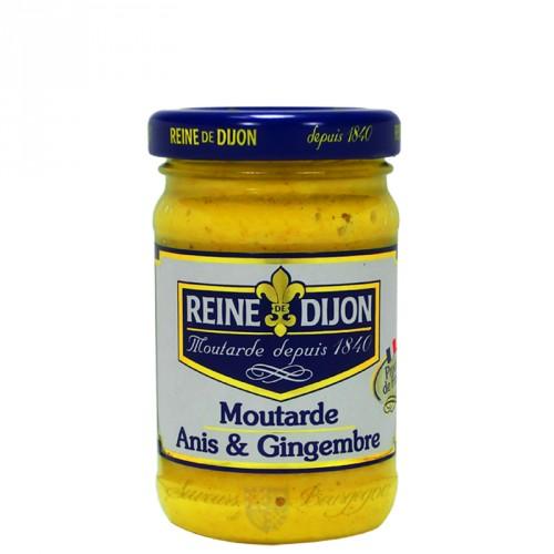 Moutarde à l'Anis et Gingembre 100g