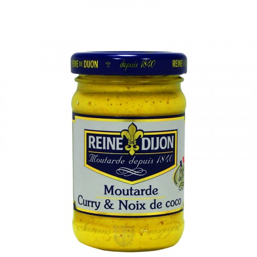 Moutarde au Curry et Noix de coco 100g