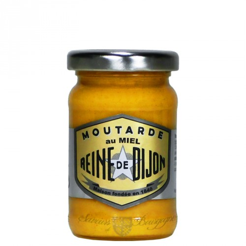 Moutarde au Miel 100g - 100% graines de Bourgogne