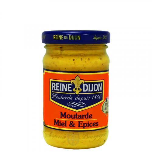 Moutarde au Miel et Epices 100g
