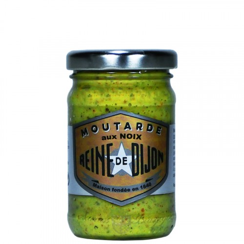 Moutarde aux Noix 100g - 100% graines de Bourgogne